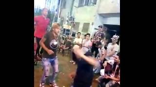 رقص دق  فاجر معتصم فوكس وصالح فوكس 2018