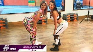Treino - Scheila Carvalho - Projeto Baba Baby