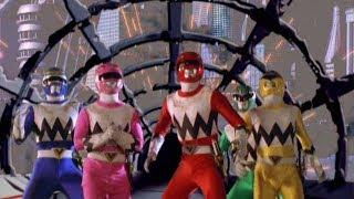 Power Rangers Lost Galaxy - Journey's End - End of Terra Venture