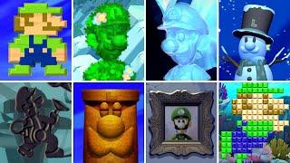 New Super Luigi U Secrets - All 82 Hidden Luigi Locations (Luigi Easter Egg Guide)