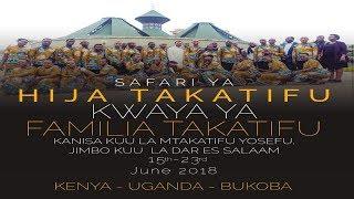 Hija Takatifu ya Kwaya ya Familia Takatifu St. Joseph Cathedral DSM Kenya, Uganda na Bukoba.