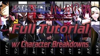 UNIEL - Full Tutorial w/ Character Breakdowns