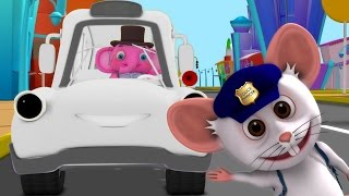 Wheels on the Bus Go Round and Round | Nursery Rhymes and Baby Songs Collection