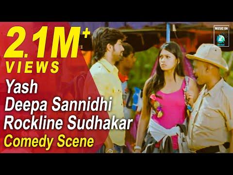 Jaanu Kannada Movie Comedy Scenes 8 | Yash, Deepa, Rangayana Raghu