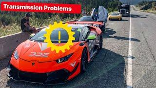 TRANSMISSION PROBLEMS WITH MY TURBO LAMBORGHINI & ALEX CHOIS 720S!