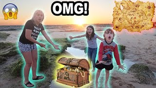 WE FOUND BURIED TREASURE!!!
