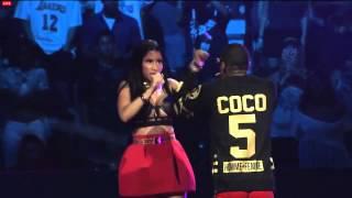Nicki Minaj Powerhouse -FULL SET Live Performance  106 LA + Soulja Boy Remy diss