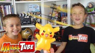 Pikachu Volador y Robot Bailarín en nuestro Unboxing