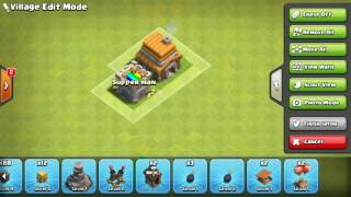 Xây nhà clash of clan town hall 5