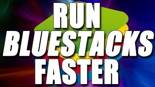 How To Run Bluestacks 3 Faster 2017 | Fix Lag and Improve Performance Easy