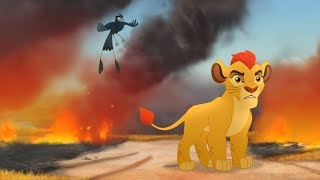 The Lion Guard - Divide and Conquer | Trailer - HOT Moments : Disney junior