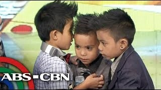 Billy, Vhong, Jhong MiniMes interview portion on It's Showtime