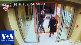 CCTV purportedly shows Khashoggi days and hours before his death