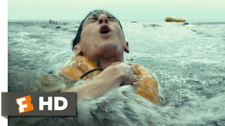 Unbroken (2/10) Movie CLIP - Plane Crash at Sea (2014) HD