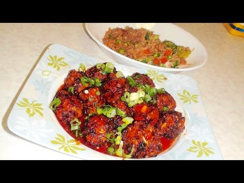 Vegetable Manchurian Recipe Video - Indo Chinese Fusion Recipes by Bhavna