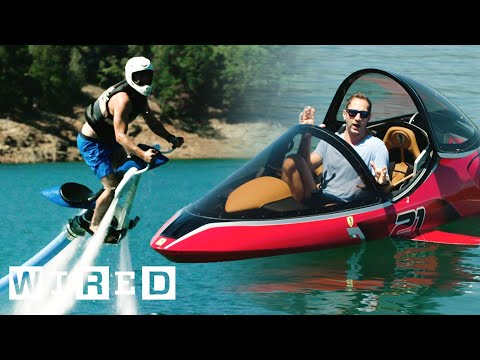 Test Driving Extreme Watercraft   OOO With Brent Rose   WIRED