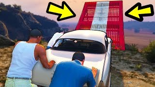 BEATING GTA 5 WITH A NEW ENDING (secret ending)