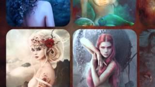 Calendrier Fantasy 2014 par ClairObscur Art - Photomanipulation