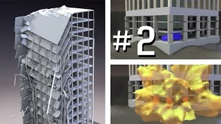 High-Rise Building Simulation #2 - Car Bomb Explosion (INACHUS)