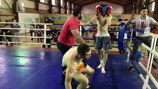 Narek Aboyan (kyokushin) VS Samvel Vardanyan (Docando)