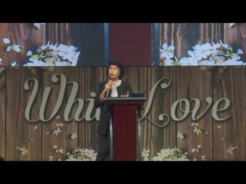 Pdt. Sandra Wilan S.PdK - Khotbah  9 april 2017 - Just Trust And Obey Part 2
