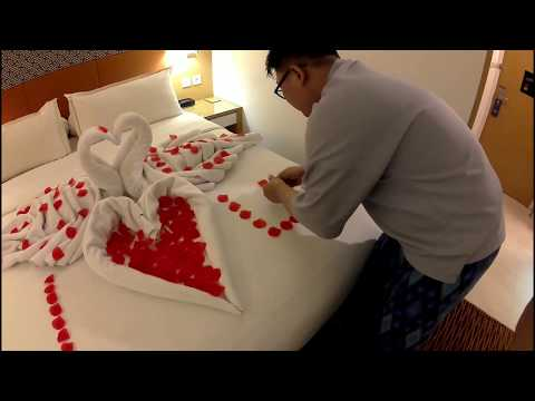Xxx Mp4 Animal Towel Cara Tips Membuat Romantic Honey Moon Set Up Dari Handuk 3gp Sex