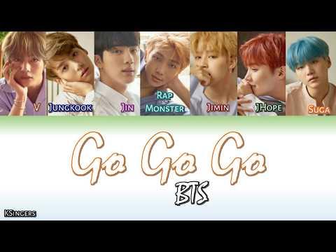 BTS - Go Go Go (고민보다 GO) | Sub (Han - Rom - English) Color Coded Lyrics