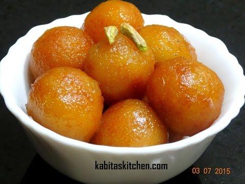 Bread Gulab Jamun Recipe-Instant Gulab Jamun-How To make Perfect Bread Gulab Jamun-Indian Sweets
