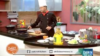 Chef Zakir's Kitchen Recipes - January 5, 2016 Dawn News TV