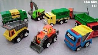 Construction of Motorcade Trucks I Vidio Toys for Kids I Unboxing