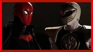 RED HOOD vs WHITE RANGER