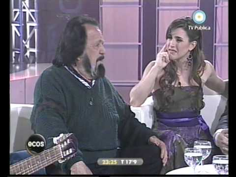 Horacio Guarany en reunion de Amigos 1 2