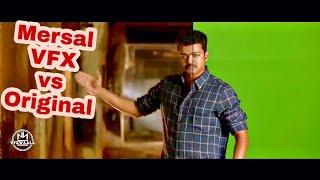 #Mersal VFX vs Orginal