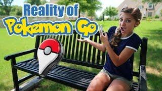Reality of Pokemon Go   Kamri Noel