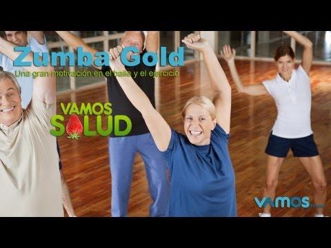 Vamos Salud El baile de la Zumba Gold perfecto para los adultos mayores.mov