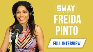 Freida Pinto on Civil & Music History, Which Hip-Hop Artists She Listens To +