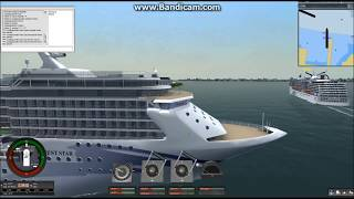 Ship Simulator Extremes Orient Star Cruise New York to Bora Bora (part1)