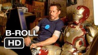 Iron Man Official B-Roll #1 (2013) - Robert Downey Jr. Superhero Movie HD