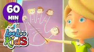 The Finger Family - Wonderful Songs for Children | LooLoo Kids