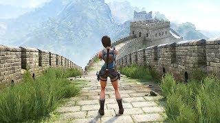 Tomb Raider 2 The Dagger Of Xian - FULL Gameplay Walkthrough DEMO (Fan Nicobass' Remake) UG4