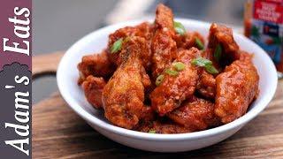 Buffalo chicken wings | How to make buffalo wing sauce