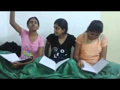 college girls funny video in hostel