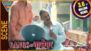 Gangs of Wasseypur -1 Hindi Movie || Manoj Bajpayee Election Campaign Scene || Eagle Hindi Movies