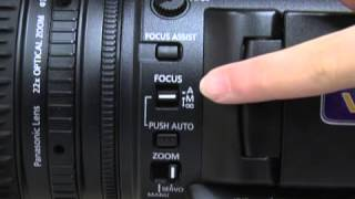 Using the Panasonic AG-AC160 Camera