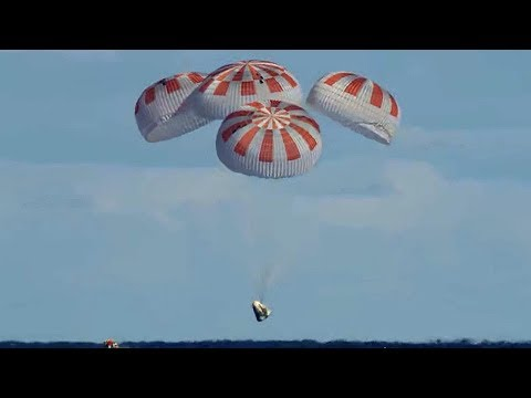 Xxx Mp4 SpaceX Crew Dragon Returns From Space Station 3gp Sex