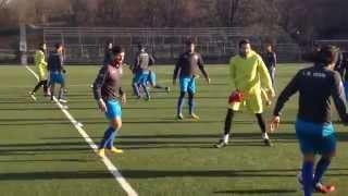 تمرین تیم ملی فوتبال ایران قبل از بازی با سوئد - استکهلم Iran National Football Team Training