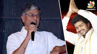 S A Chandrasekhar reveals Vijay's political plans   Latest Tamil Cinema News