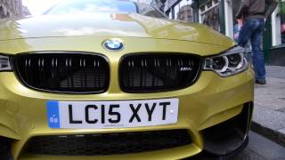 BMW M4 - Geordie Shore Scotty's Car, Look around and Driving!