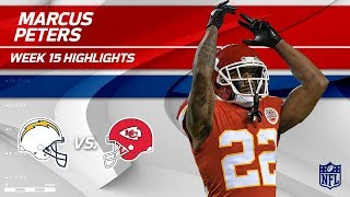 Marcus Peters Picks Off Philip Rivers Twice in Week 15! | Chargers vs. Chiefs | Wk 15 Player HLs