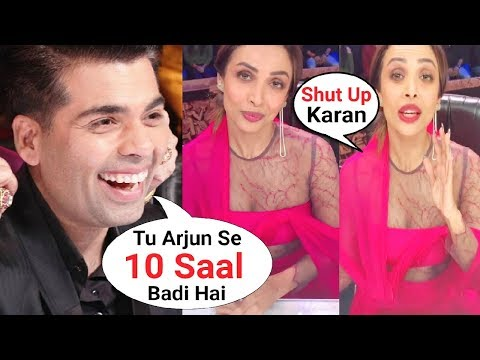 Xxx Mp4 Karan Johar Makes Fun Of Malaika Arora Khan Age Gap With Arjun Kapoor At India 39 S Got Talent 3gp Sex